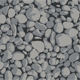 Gravel. Background (gray and black Royalty Free Stock Photography