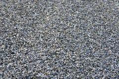Gravel. Detail of pile of gravel Stock Image