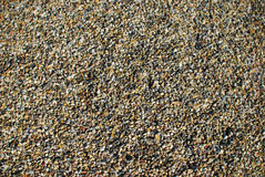 Gravel. Texture with colored gravel and stones Royalty Free Stock Photo