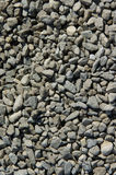 Gravel. Grey gravel on the ground stock images