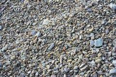 Gravel. Dolomite gravel Stock Photography