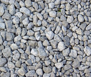 Gravel. Different rocks and stones make up the gravel Stock Images