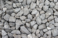 Gravel aggregate seamless background Royalty Free Stock Images