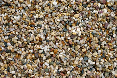 Gravel Background. Fragment of colourful gravel as a background Stock Photography