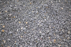 Gravel background. Gray background from gravel and stones Stock Photos
