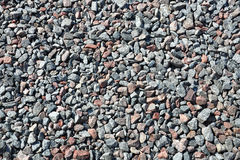 Gravel background Stock Images