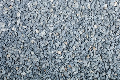 Gravel background. Gravel and Grey color stone Royalty Free Stock Photography