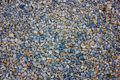 Gravel on background Royalty Free Stock Photos