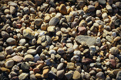 Gravel Background Stock Photography