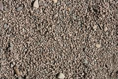 Gravel background texture Royalty Free Stock Images