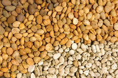Gravel from the the beach Royalty Free Stock Photos