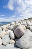 Gravel Beach Royalty Free Stock Images