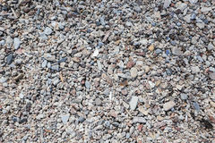 Gravel on beach in southern Stock Photo