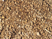 Gravel bed Stock Photo