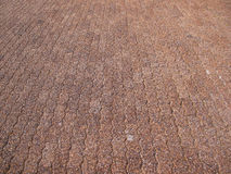 Gravel block path Stock Photography