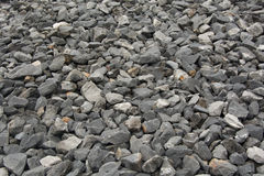Gravel. Close up of gravel background Royalty Free Stock Images