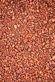 Gravel. Close up of gravel background Stock Photography
