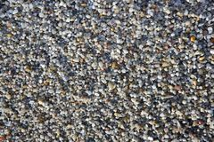 Gravel closeup background gray color Royalty Free Stock Photo