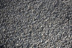 Gravel closeup background gray color Stock Images