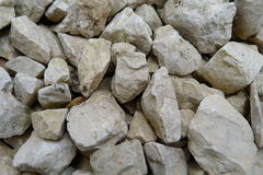 Gravel closeup. Pièces of gravel closeup Stock Photos