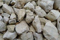 Gravel closeup. Pièces of gravel closeup stock photos
