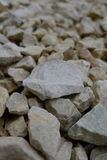 Gravel closeup. Pieces of gravel closeup Royalty Free Stock Photo