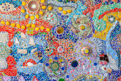 Gravel colorful texture mosaic pattern abstract background Royalty Free Stock Photography
