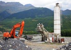 Gravel crusher Stock Images