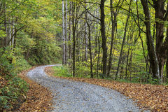 Gravel Road in the Country Royalty Free Stock Photo