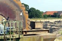 Gravel dismantling Stock Photos