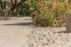 Gravel and Driveway Royalty Free Stock Images
