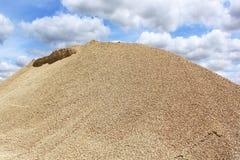 Gravel dune Stock Photo