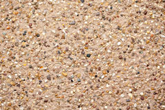 Gravel facade texture Stock Photos