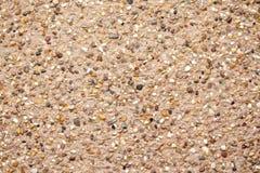 Gravel facade texture Stock Photos