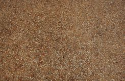 Gravel floor. For home design (courtyard, swimming pool, etc royalty free stock image
