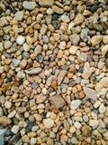 Gravel floor wallpaper Stock Photography
