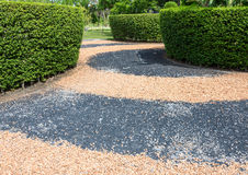 Gravel garden Royalty Free Stock Photography