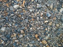 Gravel. From a construction site Stock Images