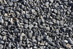 Gravel gray stone textures for asphalt concrete. Gravel gray stone textures for asphalt mix concrete Royalty Free Stock Photography