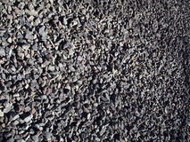 Gravel. Grey small rocks for background Royalty Free Stock Photo