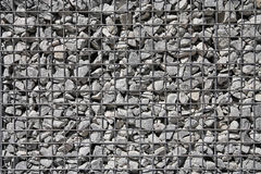 Gravel in the grid Stock Images