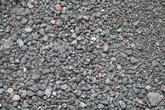 Gravel ground texture Stock Images
