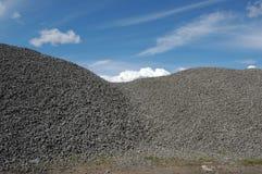 Gravel hill Stock Image