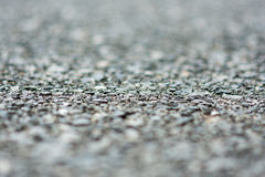 Gravel macro blurred gray nature Royalty Free Stock Images