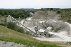 Gravel mill Royalty Free Stock Photos