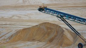Gravel mining Stock Images