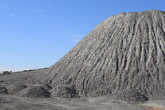 Gravel Mound Stock Photography
