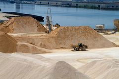 Gravel Operation Industry Stock Photos
