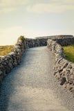Gravel path. In Burren in Ireland Royalty Free Stock Photos