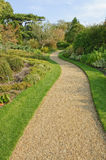 Gravel path in English park Royalty Free Stock Photography